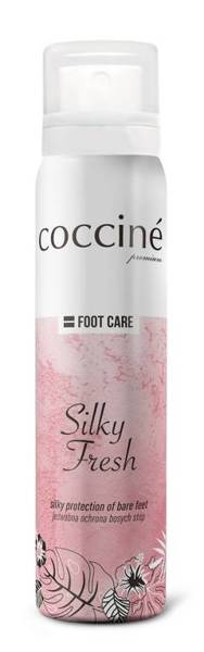 COCCINE - SILKY FRESH / Jedwab do stóp w sprayu - Bezbarwny 100ml