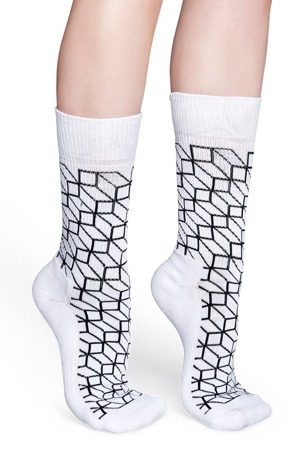 HAPPY SOCKS ATHLETIC OPTIC ATOPT27-1000 / Skarpety