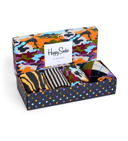 HAPPY SOCKS GIFTBOX  (4-PACK) XBC09-095 / Skarpety