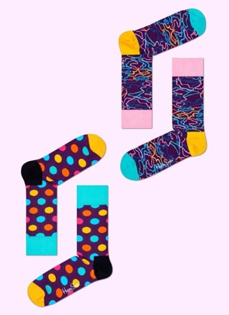HAPPY SOCKS GIFTBOX (4-PACK) XEC09-055 / Skarpety