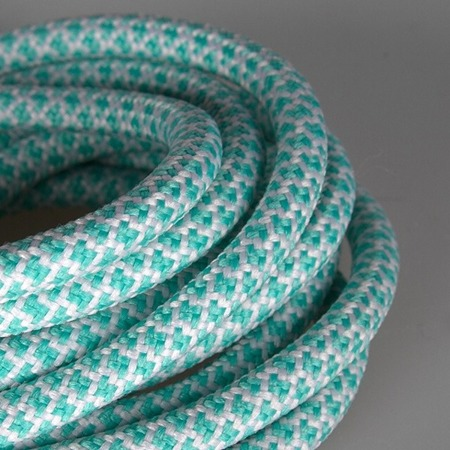 MR.LACY - ROPIES - MINT GREEN WHITE / Sznurówki