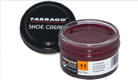 TARRAGO - SHOE CREAM / Krem do skór - Bordowy 50ml