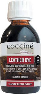 COCCINE - LEATHER DYE / Barwnik do skór - Czarny 125ml
